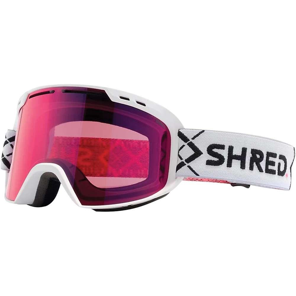 シュレッド Shred ユニセックス スキー・スノーボード ゴーグル【Amazify Snow Goggles】Bigshow White/CBL Sky Mirror