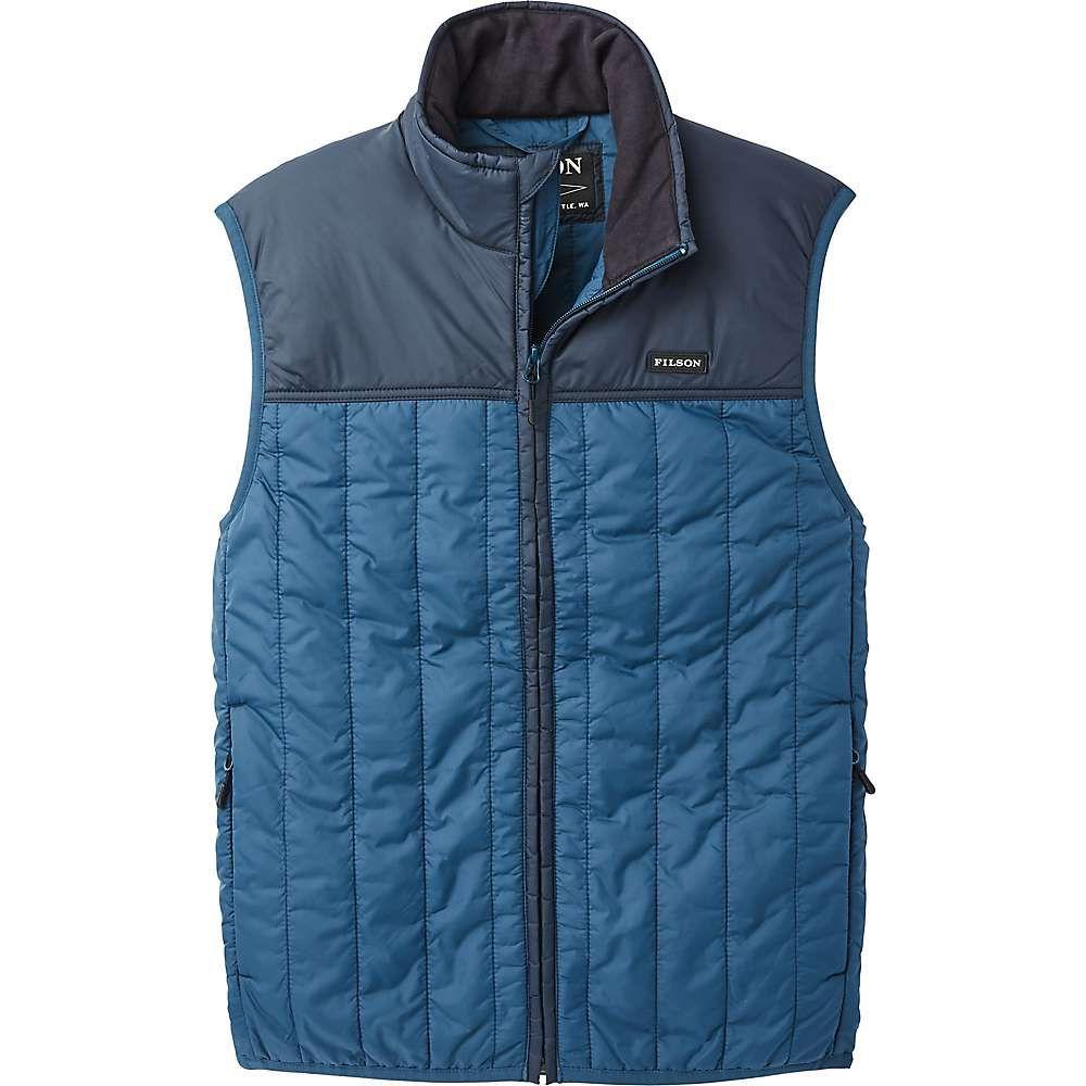 フィルソン Filson メンズ ベスト・ジレ トップス【Ultralight Vest】Blue Wing Teal/Captain's Blue