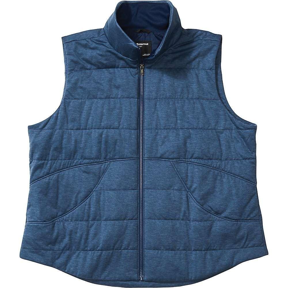マーモット Marmot レディース ベスト・ジレ トップス【Visita Insulated Vest - Plus】Arctic Navy Heather