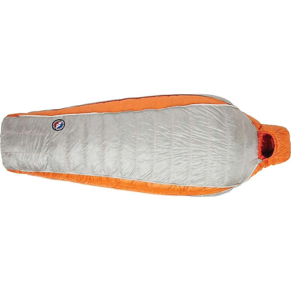 ビッグアグネス Big Agnes ユニセックス ハイキング・登山 寝袋【Torchlight UL 20 Sleeping Bag】Orange/Gray