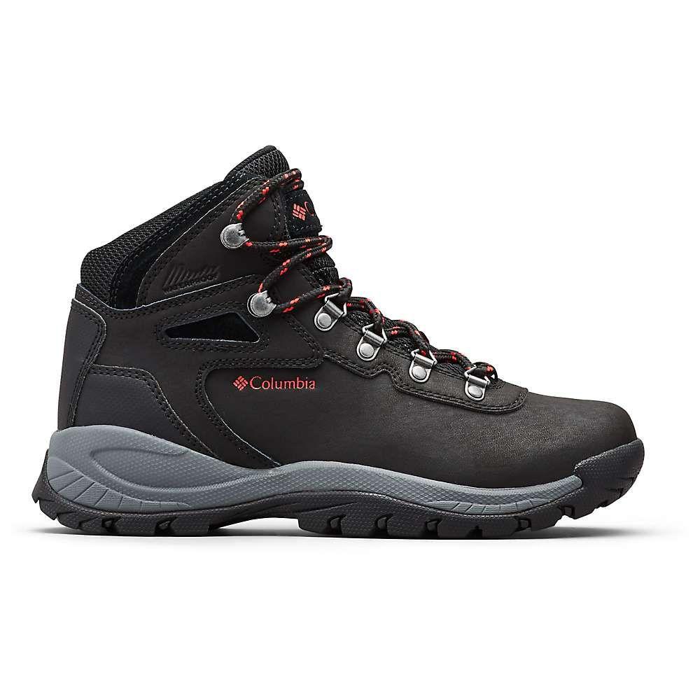 コロンビア Columbia Footwear レディース ハイキング・登山 ブーツ シューズ・靴【Columbia Newton Ridge Plus Boot】Black/Poppy Red