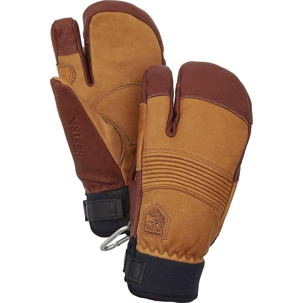 ヘスタ Hestra ユニセックス スキー・スノーボード グローブ【Freeride CZone 3-Finger Glove】Cork/Brown