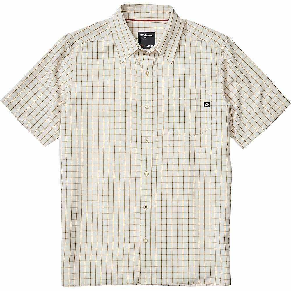 マーモット Marmot メンズ 半袖シャツ トップス【Eldridge SS Shirt】Moonbeam