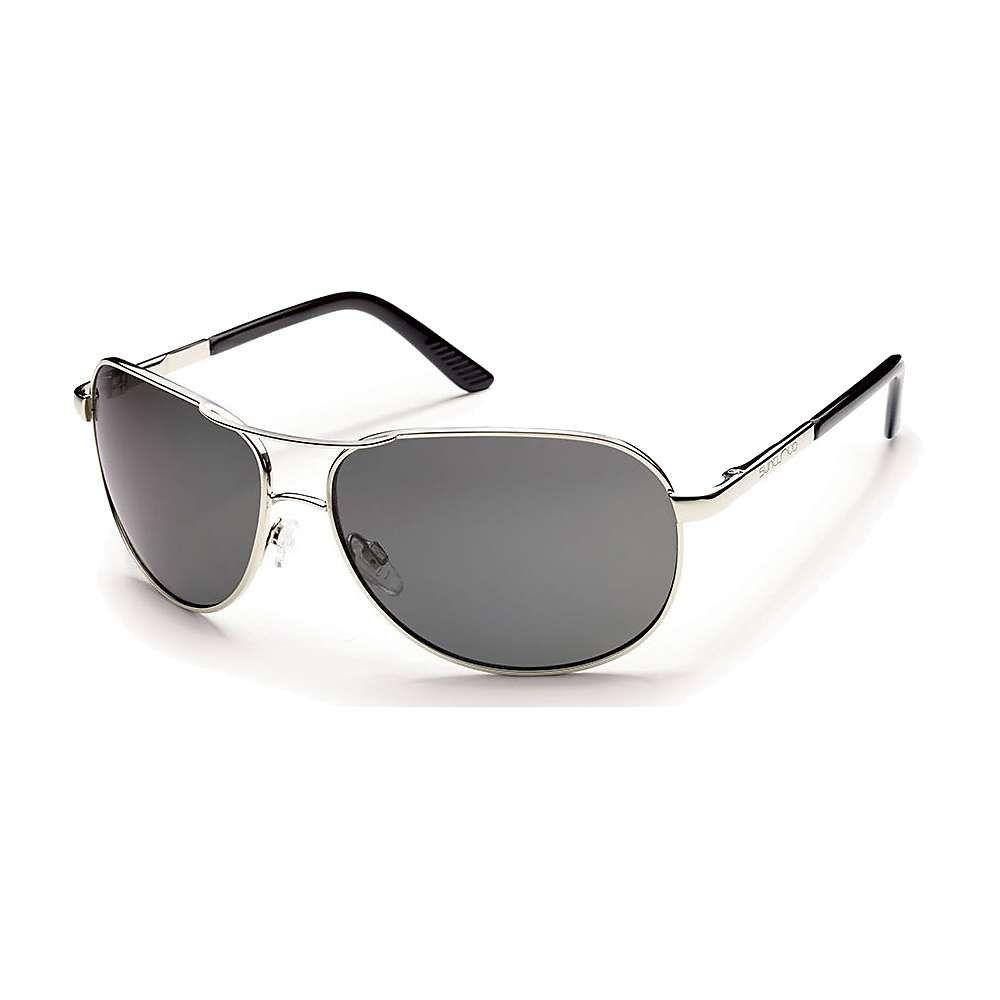 サンクラウド Suncloud メンズ メガネ・サングラス アビエイター【Aviator Polarized Sunglasses】Silver/Gray Polarized