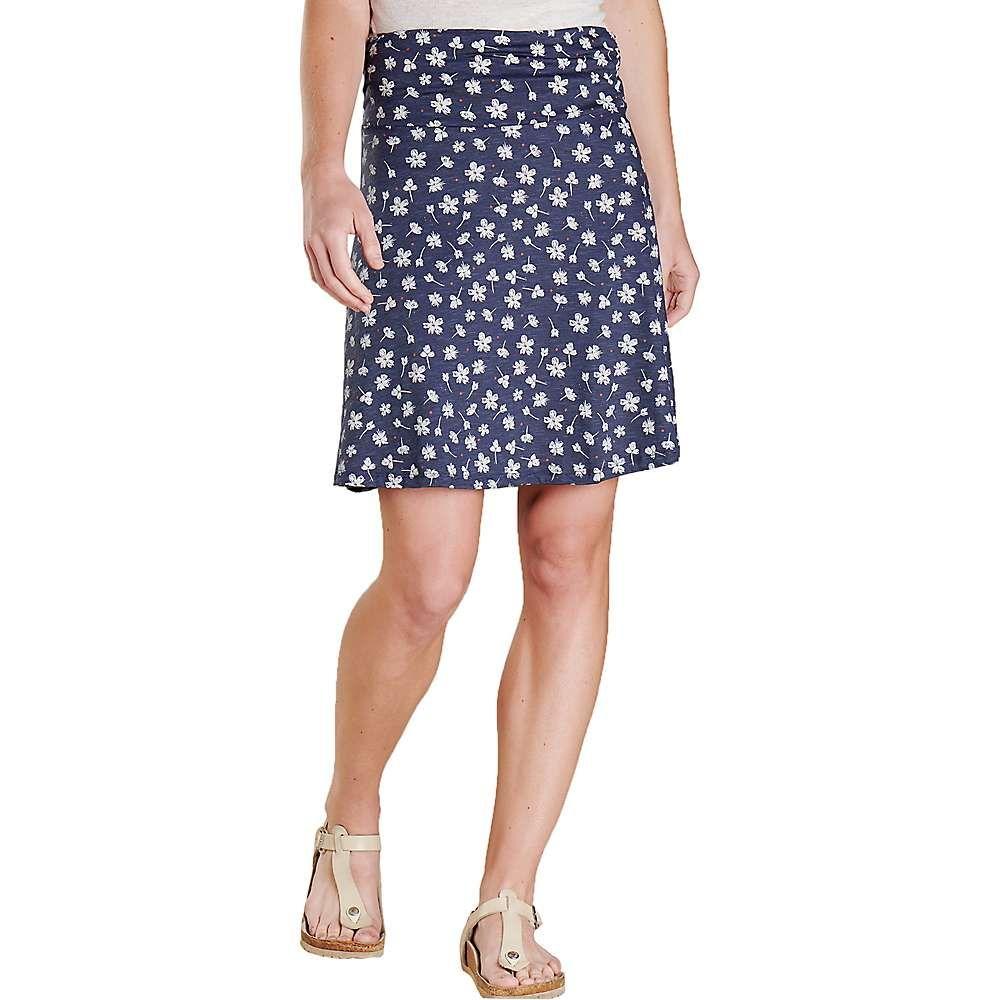 トードアンドコー Toad & Co レディース ハイキング・登山 スカート ボトムス・パンツ【Chaka Skirt】True Navy Tossed Floral Print