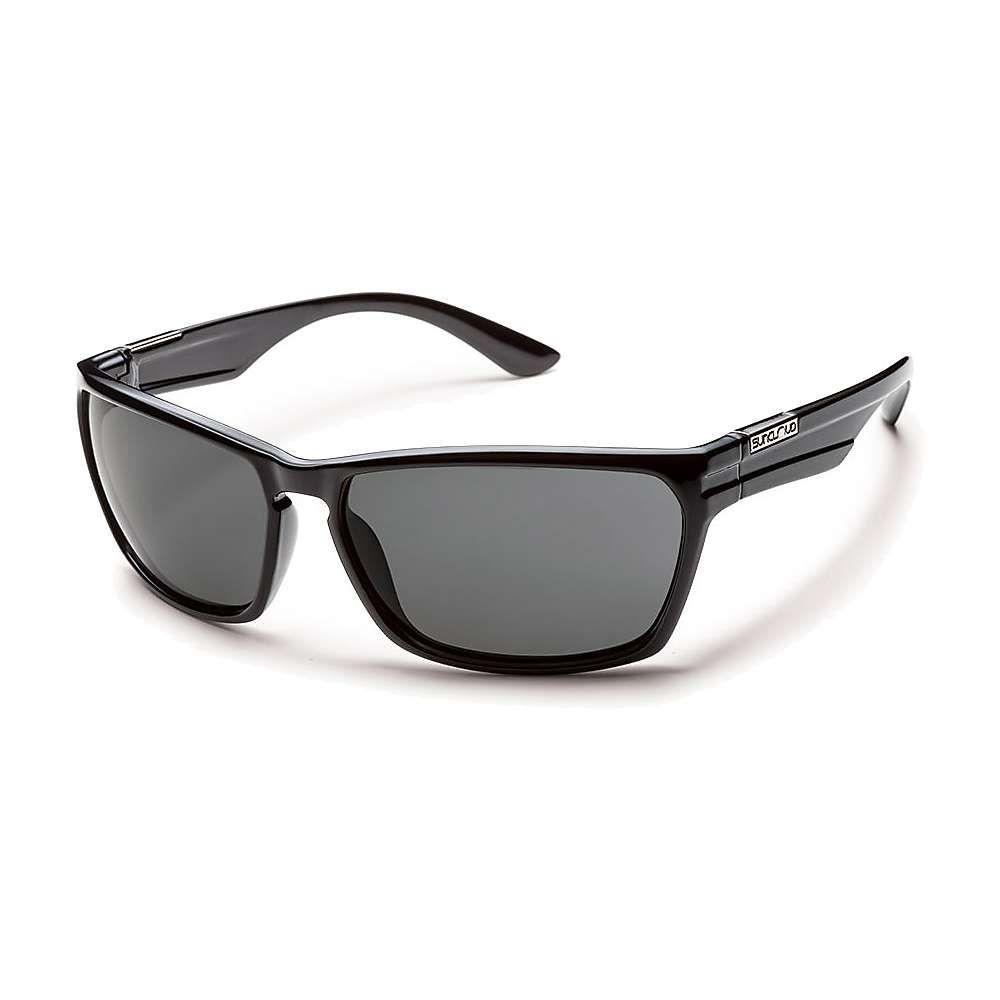 サンクラウド Suncloud メンズ メガネ・サングラス 【Cutout Polarized Sunglasses】Black/Gray Polarized