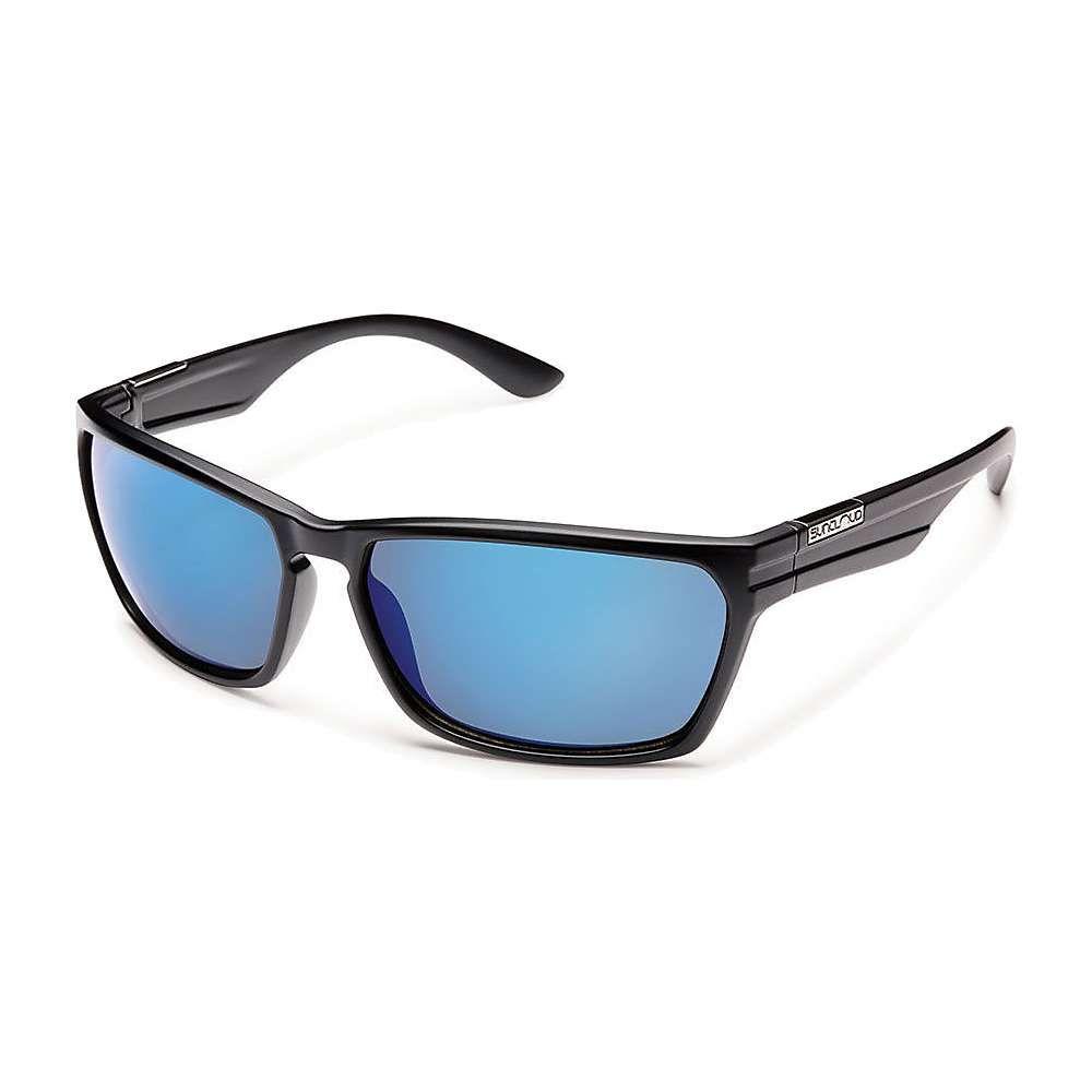サンクラウド Suncloud メンズ メガネ・サングラス 【Cutout Polarized Sunglasses】Matte Black/Blue Mirror Polarized