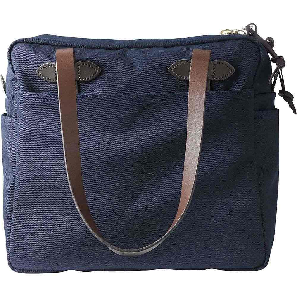 フィルソン Filson ユニセックス トートバッグ バッグ【Tote Bag with Zipper】Navy