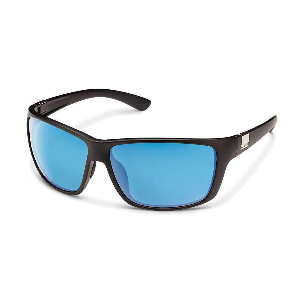 サンクラウド Suncloud メンズ メガネ・サングラス 【Councilman Polarized Sunglasses】Matte Black/Blue Mirror Polarized