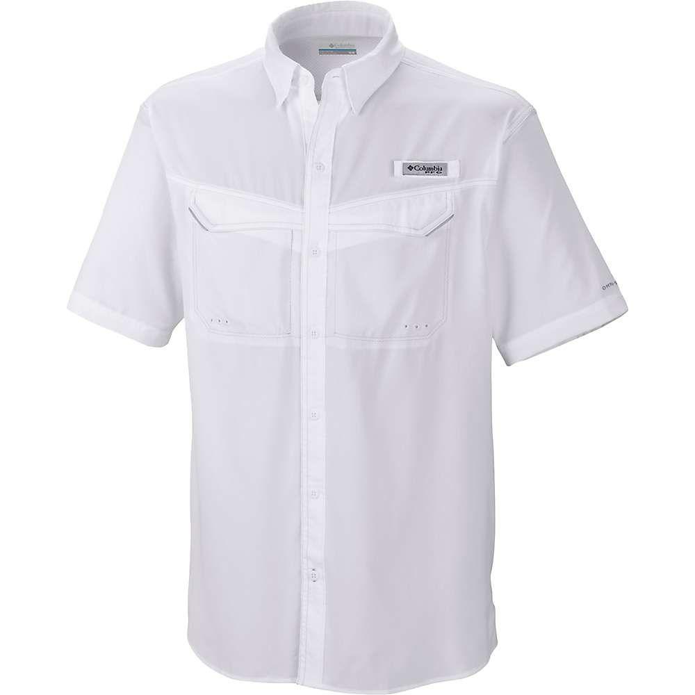 コロンビア Columbia メンズ 半袖シャツ トップス【Low Drag Offshore SS Shirt】White