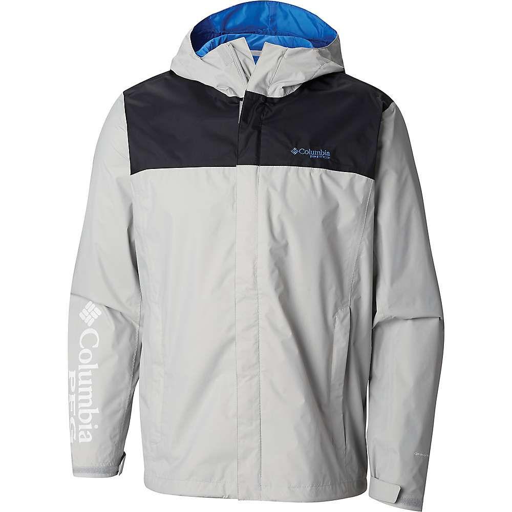 コロンビア Columbia メンズ ジャケット アウター【PFG Storm Jacket】Cool Grey/Vivid Blue
