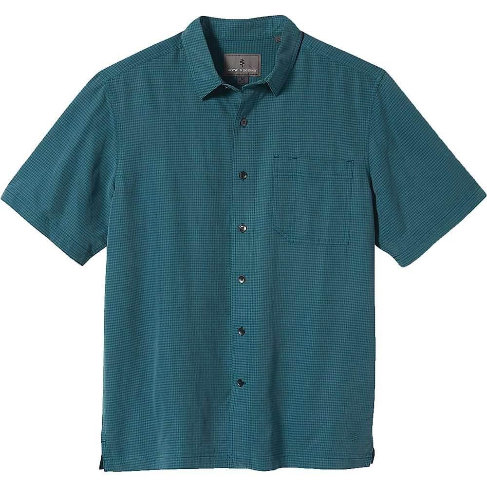 ロイヤルロビンズ Royal Robbins メンズ 半袖シャツ トップス【Desert Pucker Dry SS Shirt】Atlantic Deep