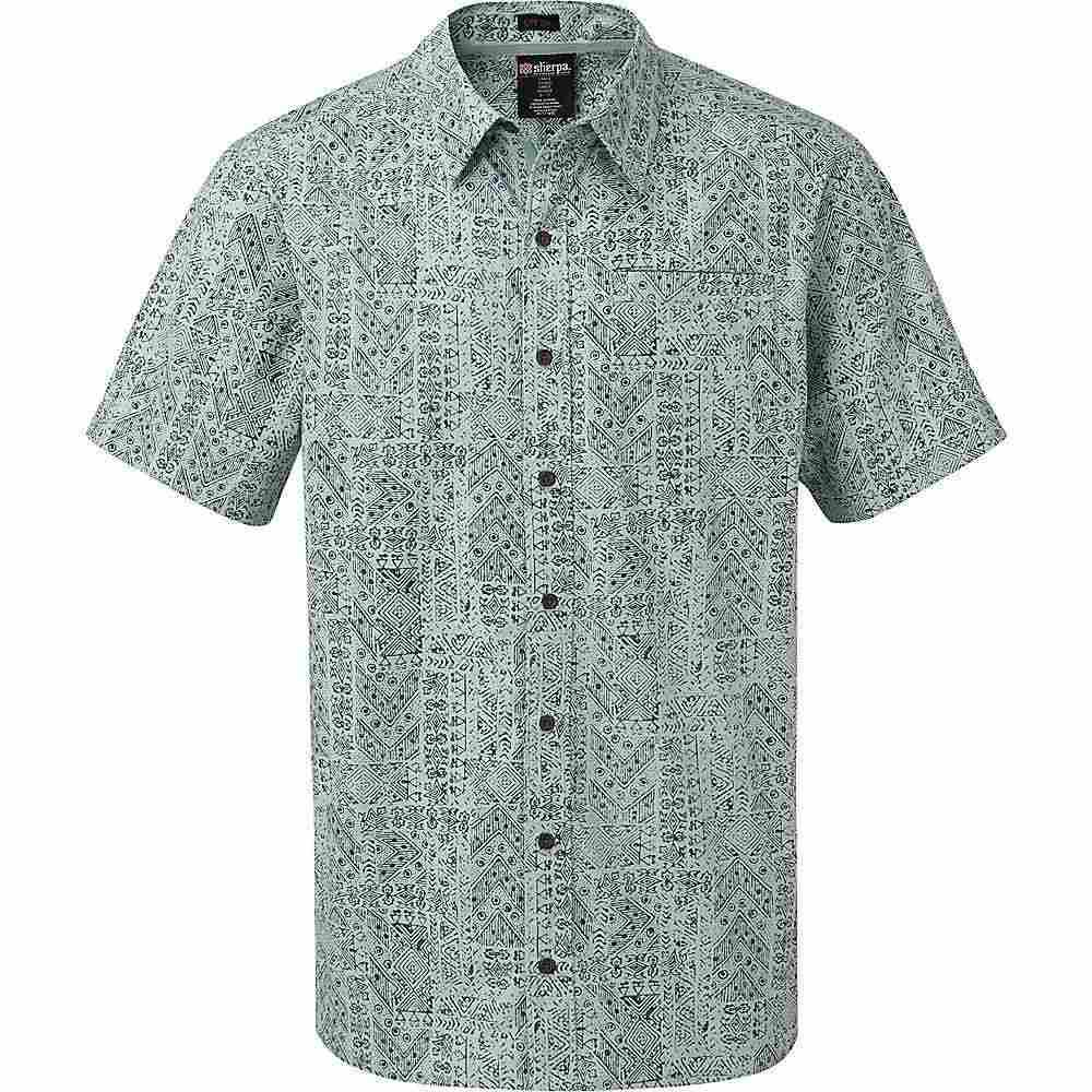 シェルパ Sherpa メンズ シャツ トップス【Durbar Shirt】Rani Blue