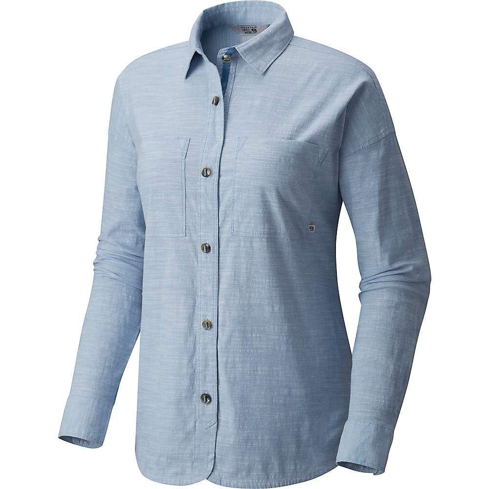 マウンテンハードウェア Mountain Hardwear レディース トップス 【Outpost Long Sleeve Shirt】Storm Cloud