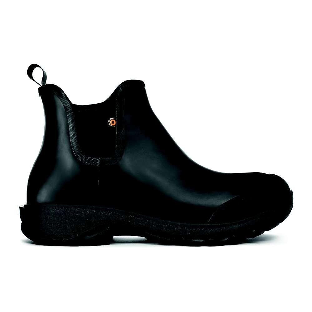 ボグス Bogs メンズ レインシューズ・長靴 シューズ・靴【Sauvie Slip On Boot】Black