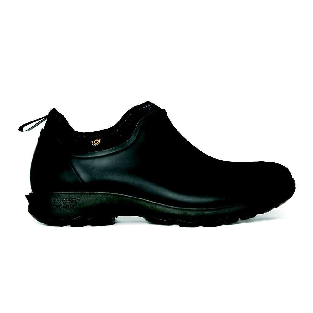 ボグス Bogs メンズ レインシューズ・長靴 シューズ・靴【Sauvie Slip On Shoe】Black
