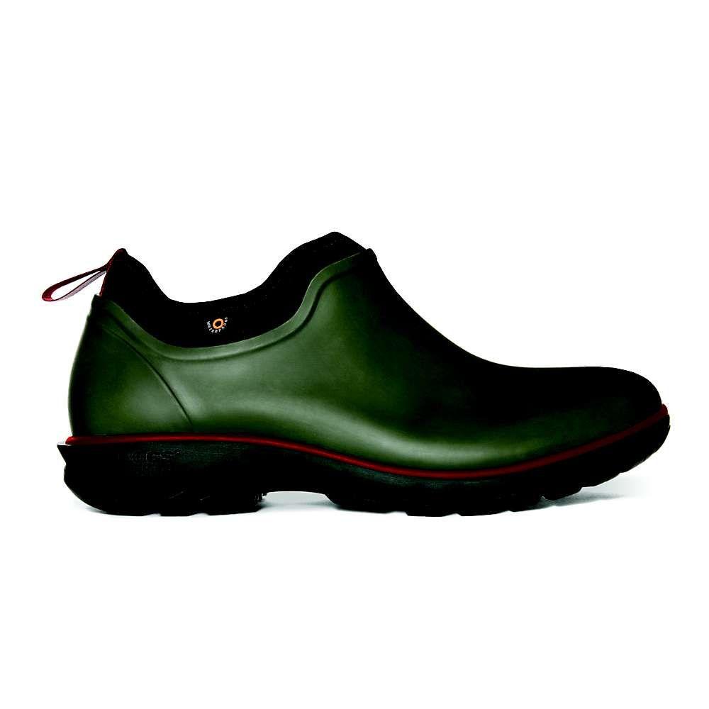 ボグス Bogs メンズ レインシューズ・長靴 シューズ・靴【Sauvie Slip On Shoe】Dark Green