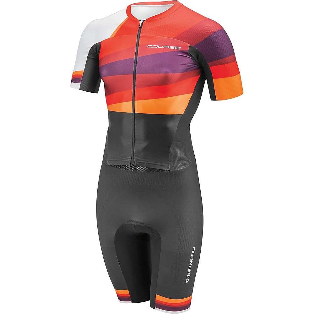 ルイガノ Louis Garneau メンズ 自転車 ボトムス・パンツ【LGneer Tri Skin】Multi Red
