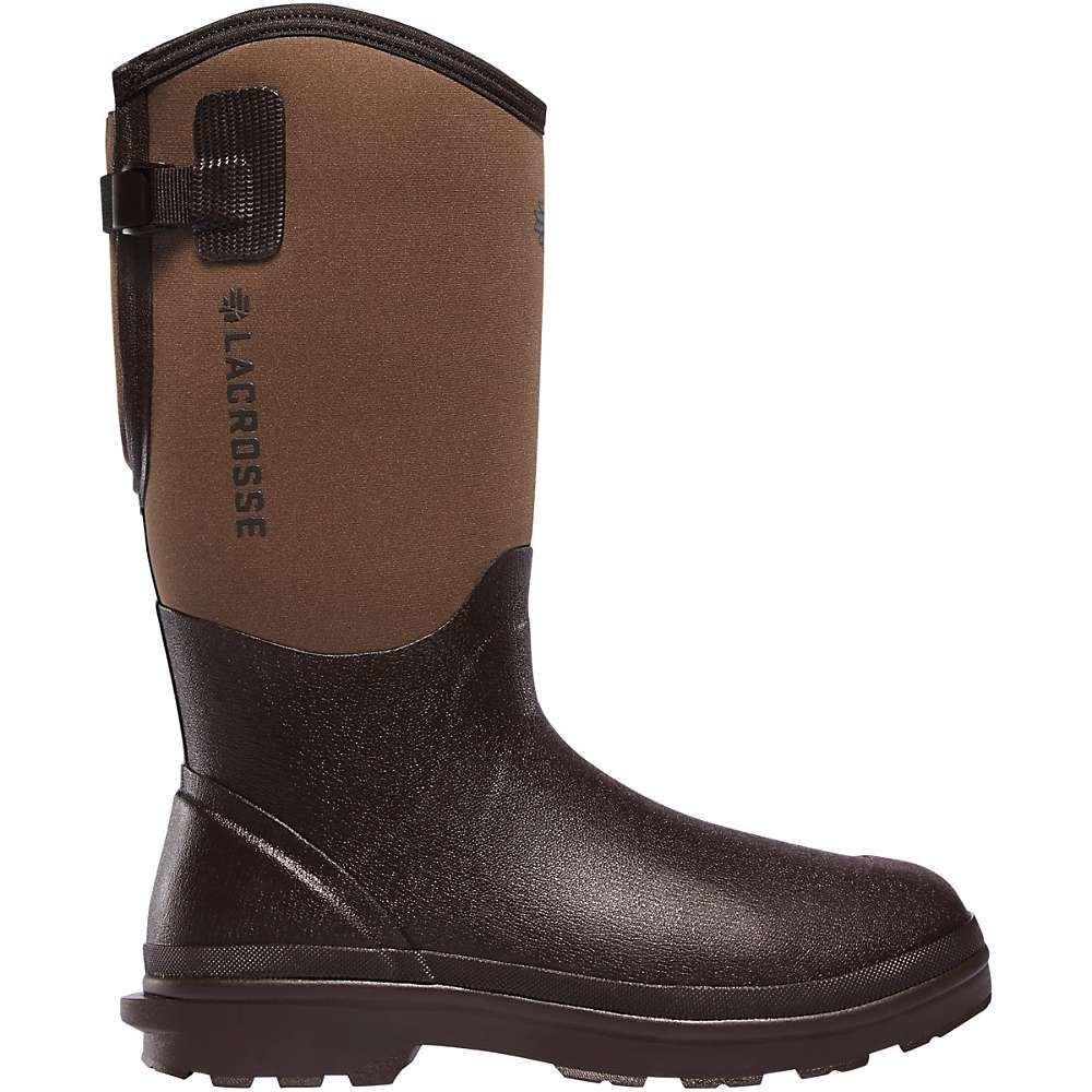 ラクロッセ Lacrosse メンズ レインシューズ・長靴 シューズ・靴【Alpha Range Air-Circ 14IN Boot】Brown