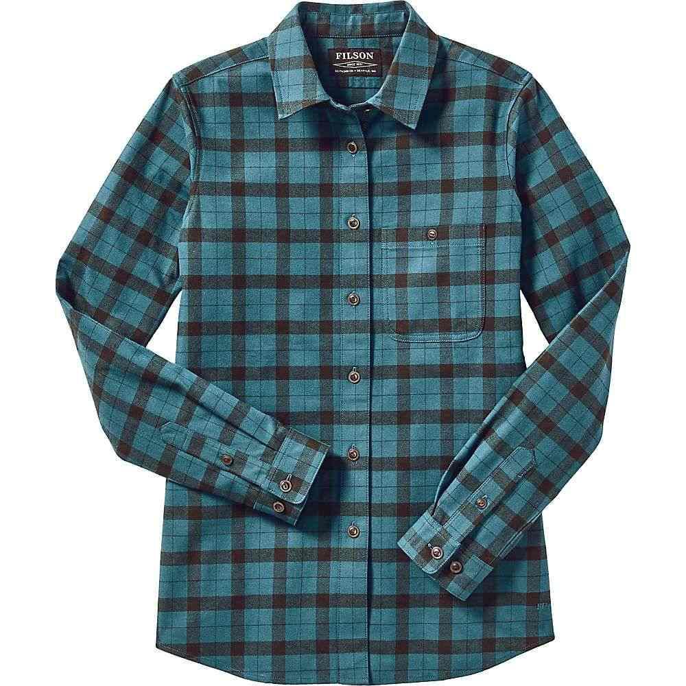 フィルソン Filson レディース トップス 【Alaskan Guide Shirt】Emerald/Forest