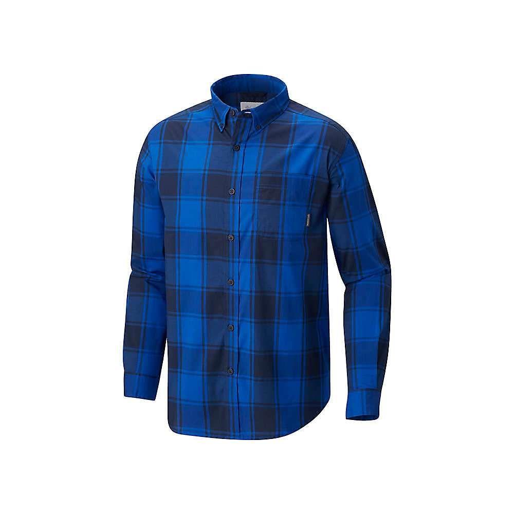 コロンビア Columbia メンズ シャツ トップス【Rapid Rivers II LS Shirt】Azul Large Plaid