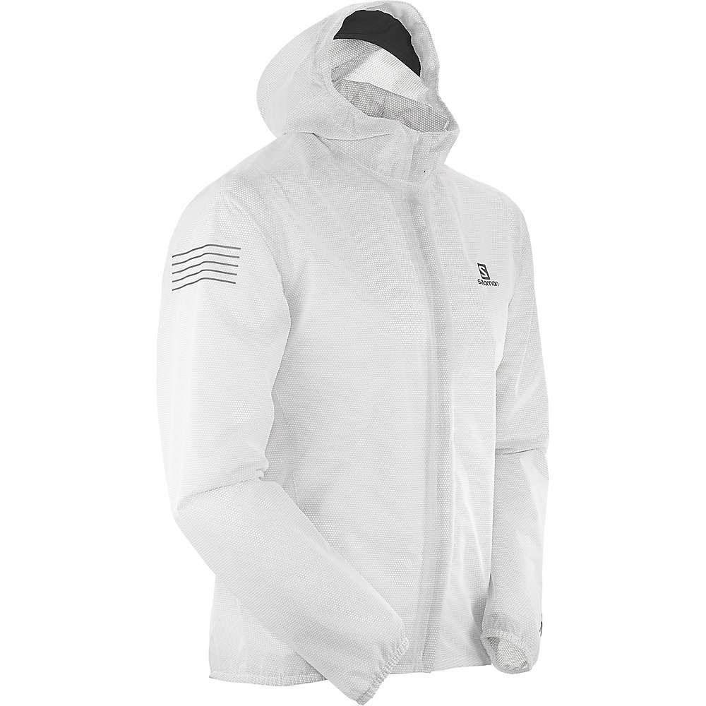 サロモン Salomon メンズ レインコート アウター【Bonatti Race Waterproof Jacket】White