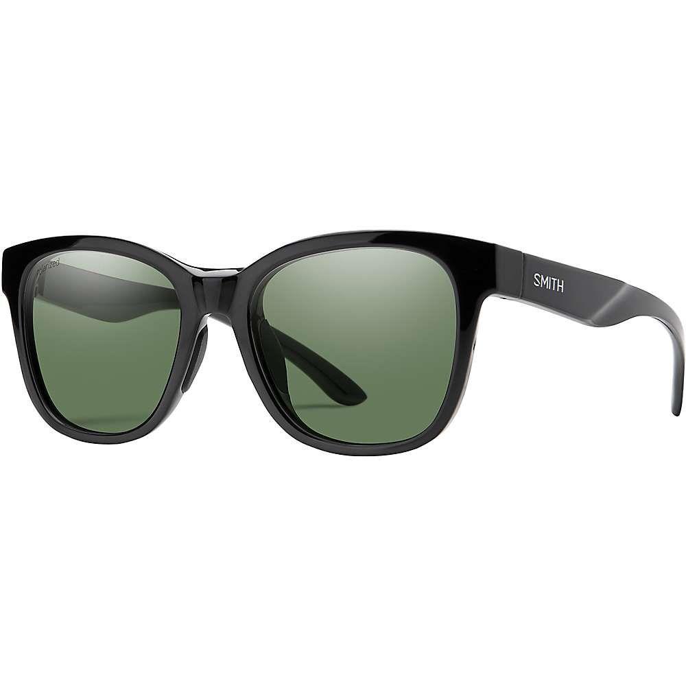 スミス Smith ユニセックス スポーツサングラス 【Caper Polarized Sunglasses】Black/Polarized Gray Green