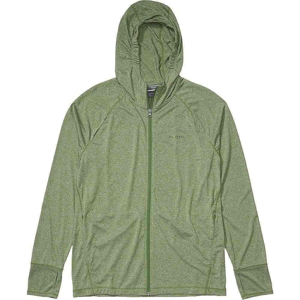 エクスオフィシオ ExOfficio メンズ フィットネス・トレーニング トップス【BugsAway Tarka Full Zip Hoody】Alpine Green