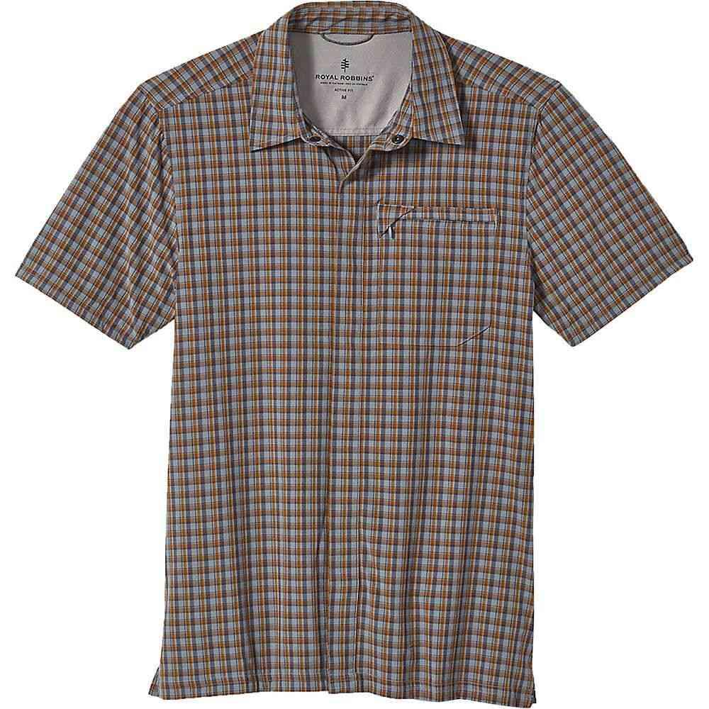 ロイヤルロビンズ Royal Robbins メンズ 半袖シャツ トップス【Mission Plaid SS Shirt】Tradewinds