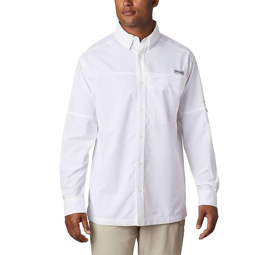 コロンビア Columbia メンズ シャツ トップス【Grander Marlin Woven LS Shirt】White