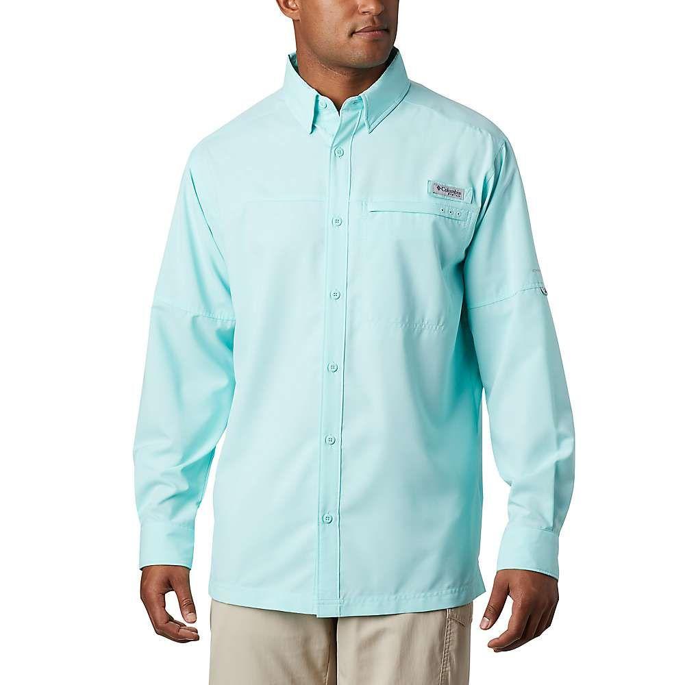コロンビア Columbia メンズ シャツ トップス【Grander Marlin Woven LS Shirt】Gulf Stream