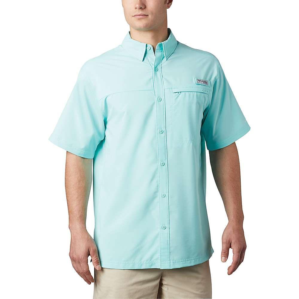 コロンビア Columbia メンズ 半袖シャツ トップス【Grander Marlin Woven SS Shirt】Gulf Stream