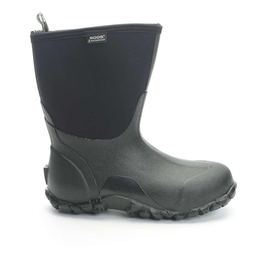 ボグス Bogs メンズ レインシューズ・長靴 シューズ・靴【Classic Mid Boot】Black