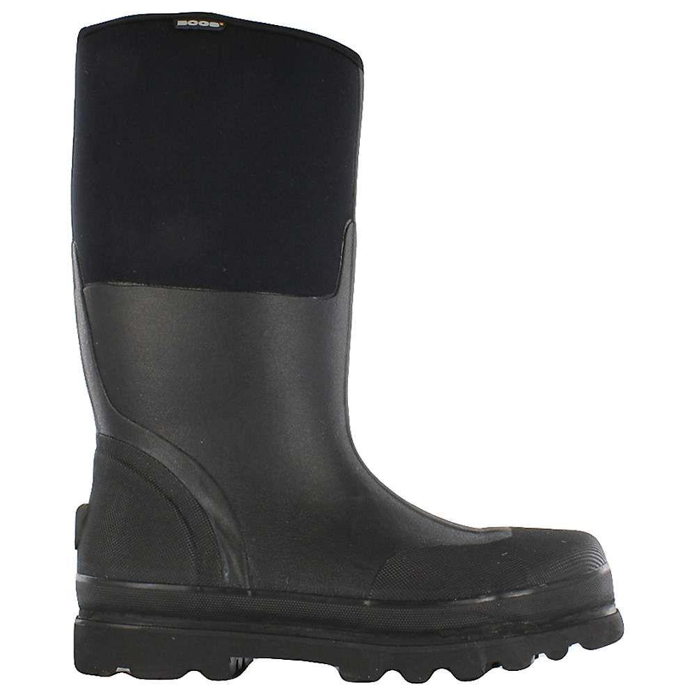 ボグス Bogs メンズ レインシューズ・長靴 シューズ・靴【Forge Steel Toe Boot】Black