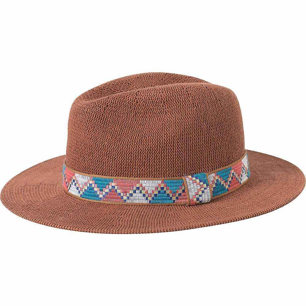 プラーナ Prana レディース ハット フェドラ 帽子【Cybil Knit Fedora Hat】Cork