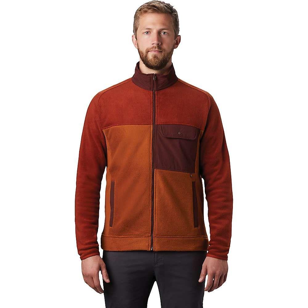 マウンテンハードウェア Mountain Hardwear メンズ フリース トップス【Unclassic Fleece Jacket】Rusted