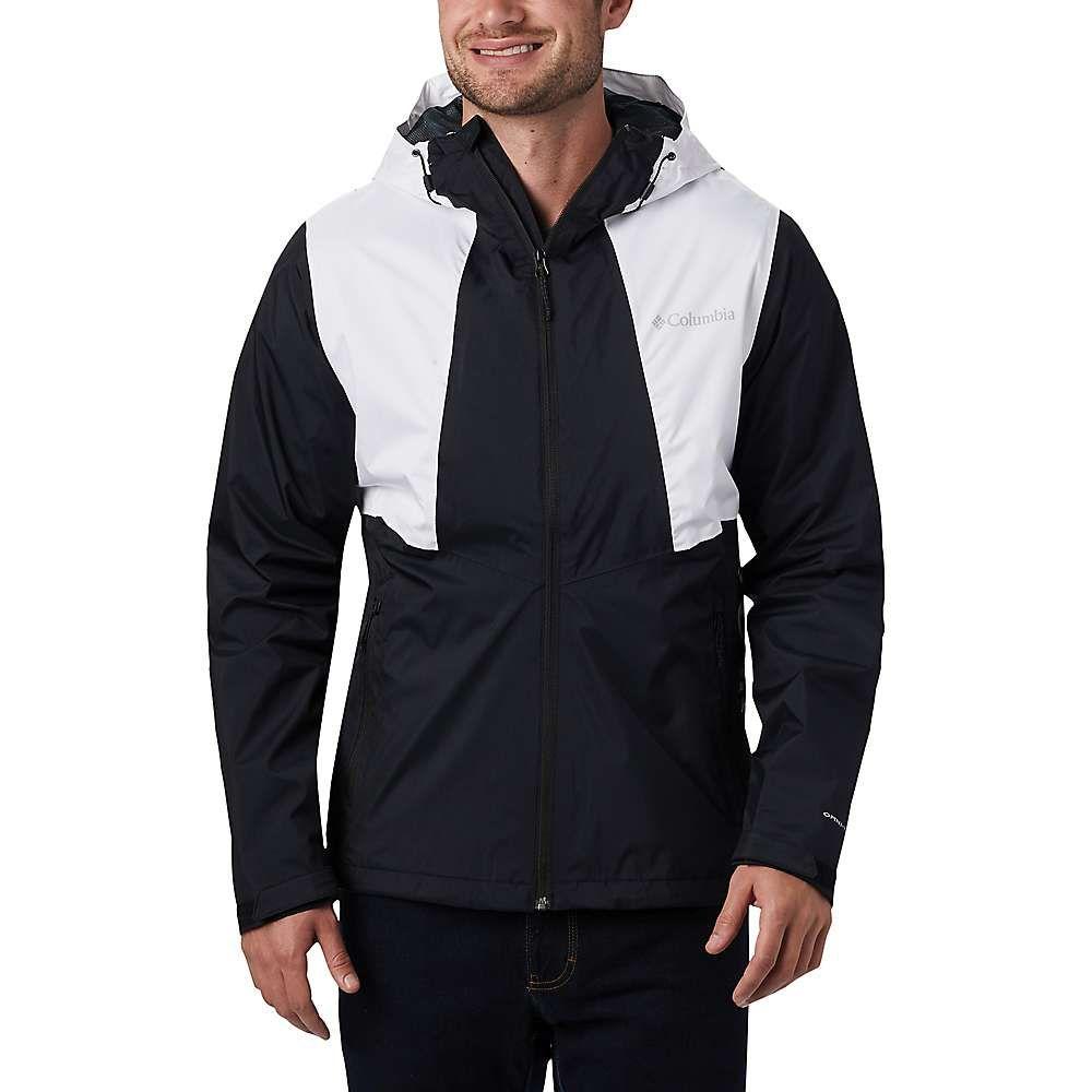 コロンビア Columbia メンズ レインコート アウター【Inner Limits II Jacket】Black/White