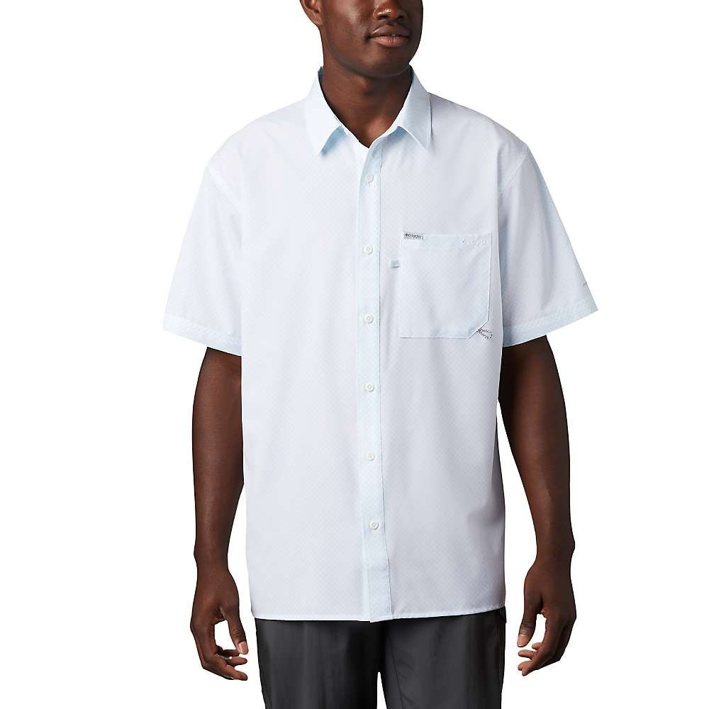 コロンビア Columbia メンズ 釣り・フィッシング トップス【PFG Zero Rules Woven SS Shirt】White