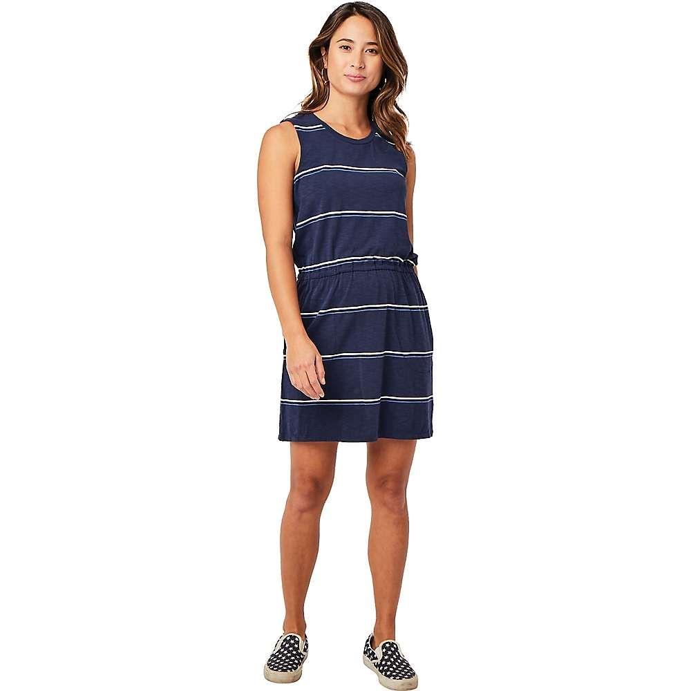 カーヴデザイン Carve Designs レディース ワンピース ワンピース・ドレス【Camila Dress】Navy Vintage Stripe