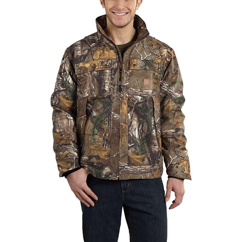 カーハート Carhartt メンズ ジャケット アウター【Quick Duck Camo Traditional Jacket】Realtree Xtra