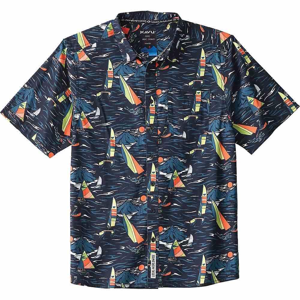 カブー Kavu メンズ 半袖シャツ トップス【KAVU Festaruski Shirt】Sail Away Night