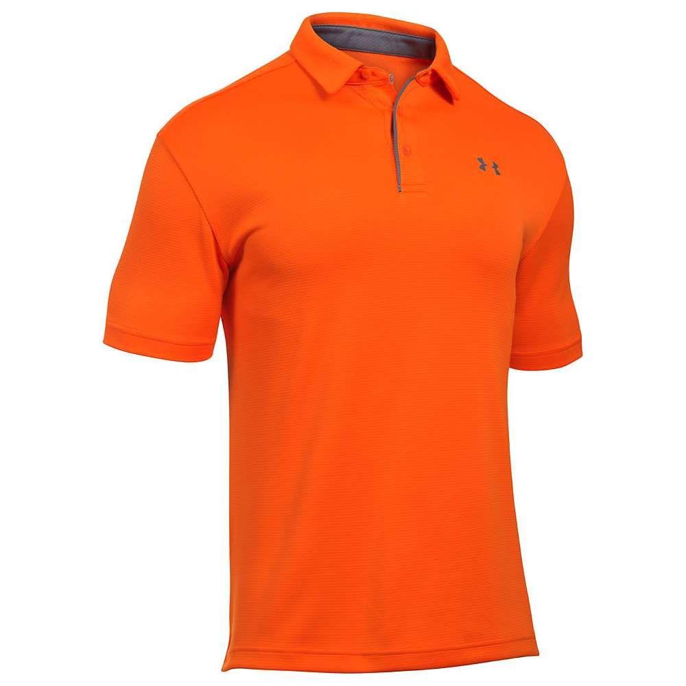 アンダーアーマー Under Armour メンズ ポロシャツ トップス【UA Tech Polo】Team Orange/Graphite/Graphite