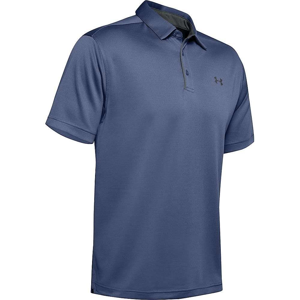 アンダーアーマー Under Armour メンズ ポロシャツ トップス【UA Tech Polo】Hushed Blue/Pitch Grey