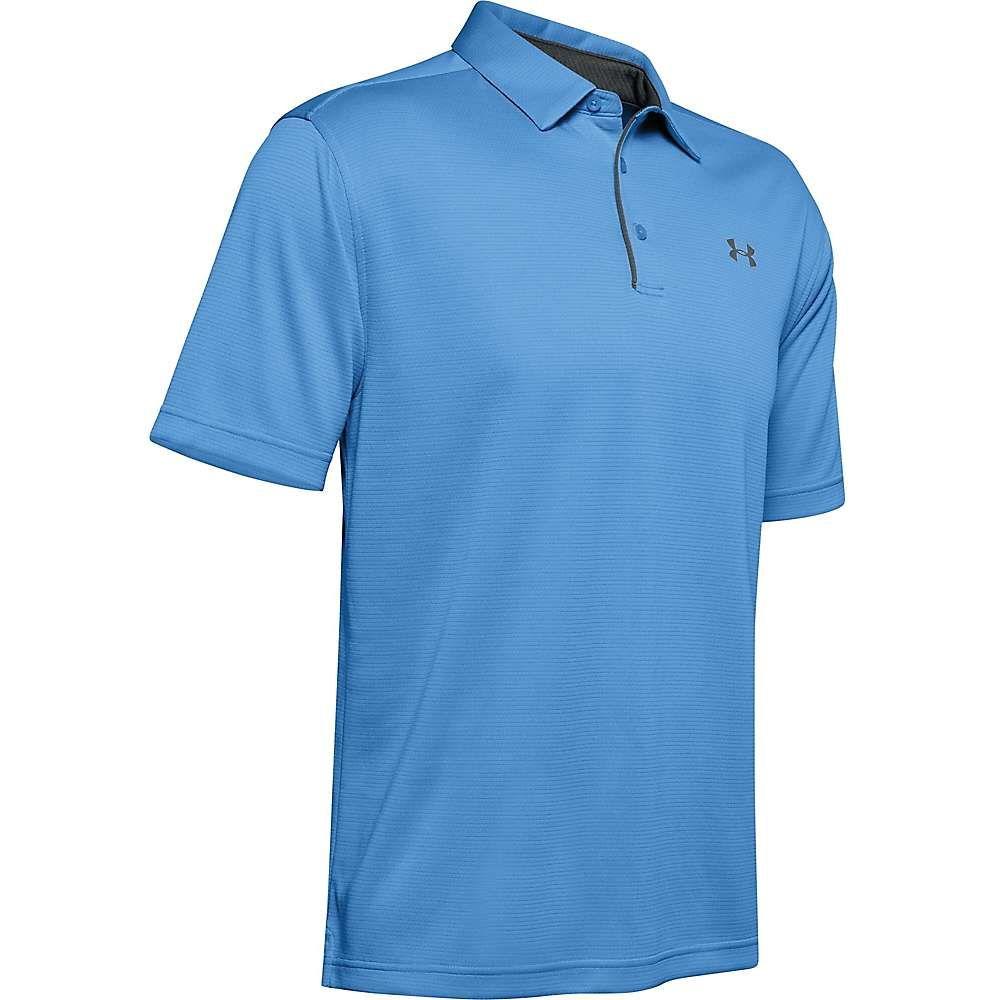アンダーアーマー Under Armour メンズ ポロシャツ トップス【UA Tech Polo】Carolina Blue/Graphite Blue/Graphite Blue