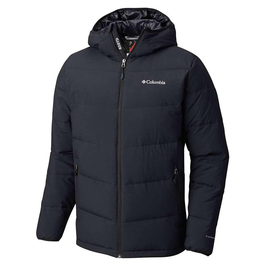 コロンビア Columbia メンズ ダウン・中綿ジャケット フード アウター【Lone Fir 650 TurboDown Hooded Jacket】Black