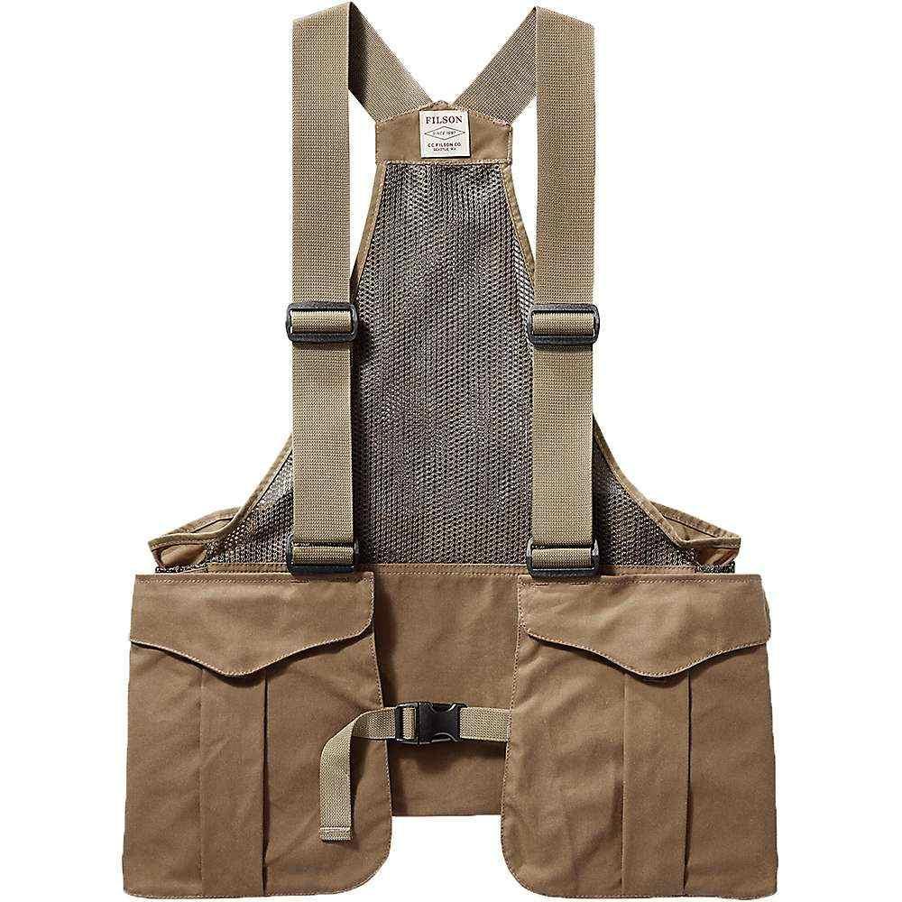 フィルソン Filson メンズ ベスト・ジレ トップス【Mesh Game Vest Bag】Dark Tan