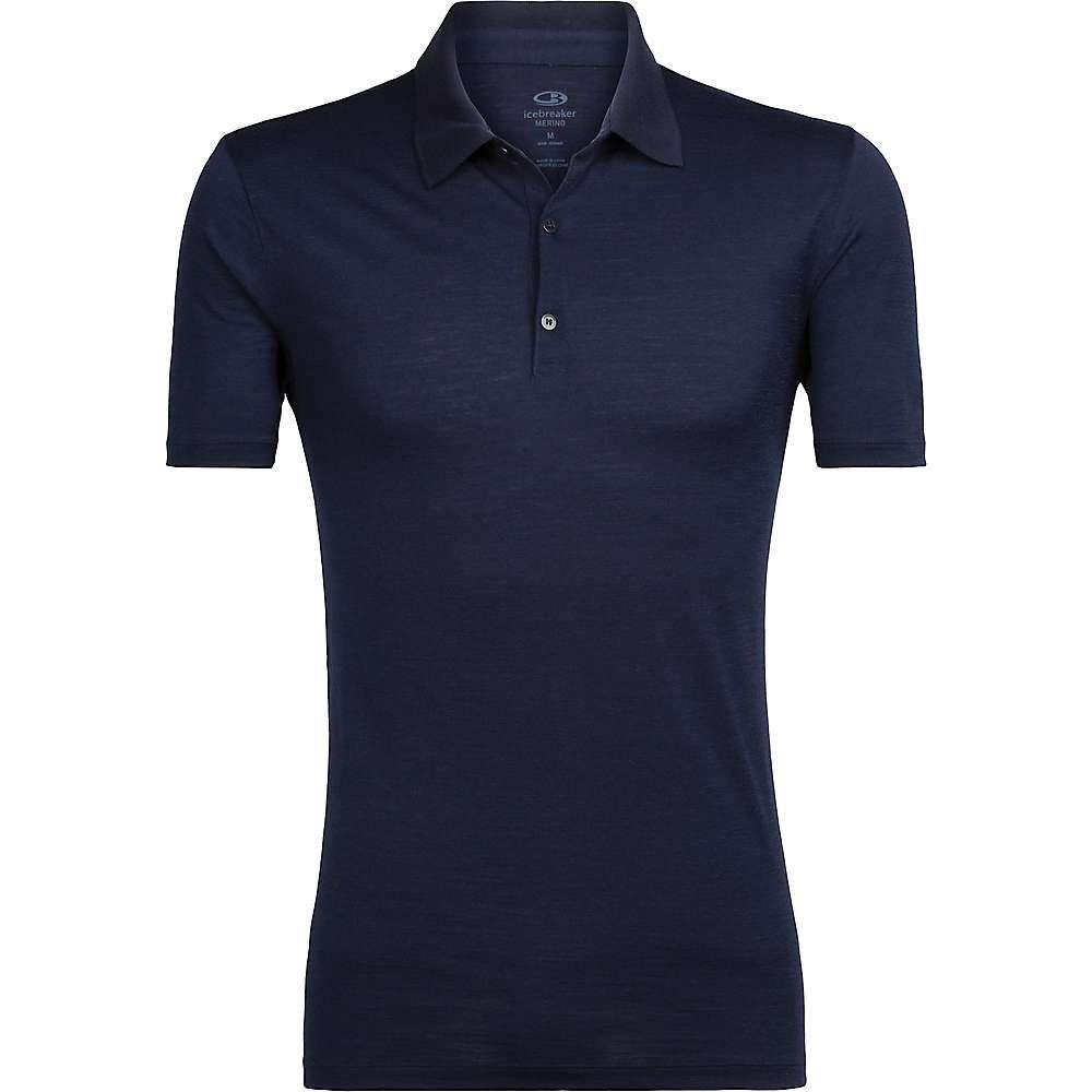 アイスブレーカー Icebreaker メンズ ポロシャツ トップス【Tech Lite SS Polo Shirt】Midnight Navy