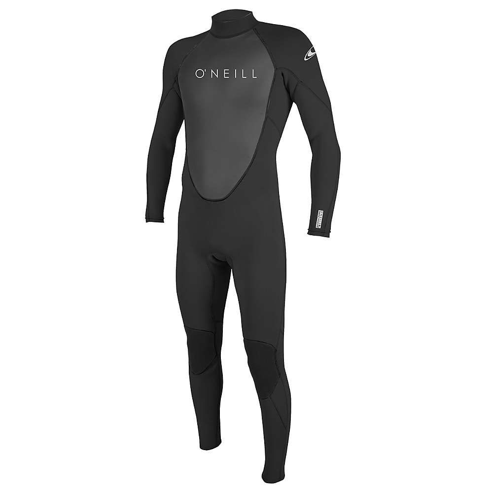 オニール Oneill メンズ ウェットスーツ 水着・ビーチウェア【O'Neill Reactor II 3/2MM Back Zip Full Suit】Black/Black