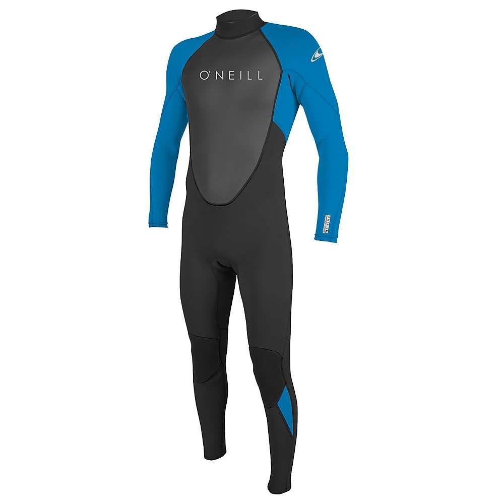 オニール Oneill メンズ ウェットスーツ 水着・ビーチウェア【O'Neill Reactor II 3/2MM Back Zip Full Suit】Black/Ocean
