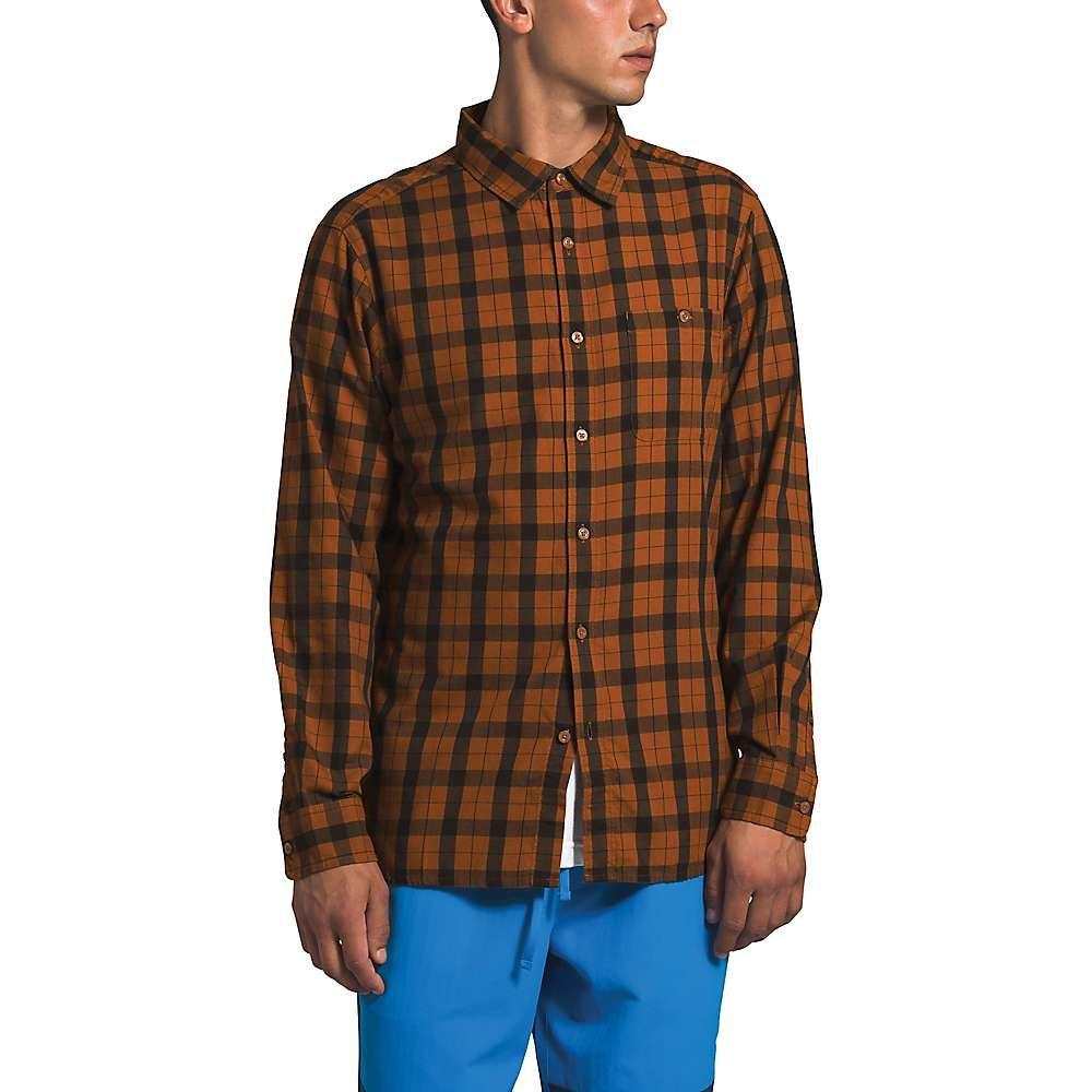 ザ ノースフェイス The North Face メンズ シャツ トップス【Hayden Pass 2.0 LS Shirt】Caramel Cafe Mountain Plaid